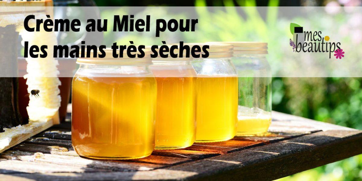 Soin 100% naturel au miel réparateur pour les mains