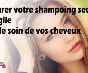 Comment se préparer un shampoing sec naturel à l'argile blanche ?