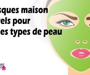 5 masques maison pour tous les types de peau