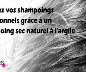 Comment faire son shampoing sec maison ?